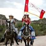 Cowgirls & NDOC flag