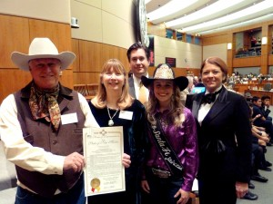 New Mexico National Day of the Cowboy posse.